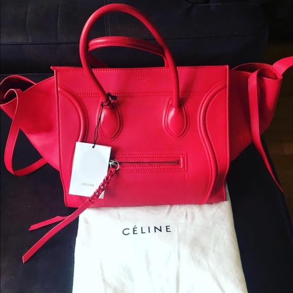 6355cbd9b67 Celine Phantom Luggage Handbag